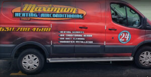 Maximum heating & air conditioning service repair van