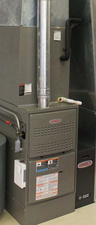 Furnace installed in Aurora home by Maximum Heating & Air Conditioning